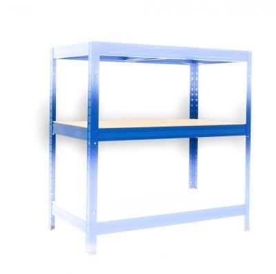 Kompletna Półka Do Regału Regał Metalowy 35 X 60 Cm Niebieski Nośność Półki 175 Kg
