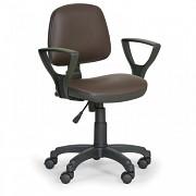 Krzesło robocze Milano Biedrax Z9782H z podłokietnikami