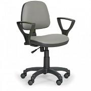 Krzesło robocze Milano Biedrax Z9782S z podłokietnikami