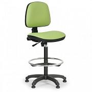 Krzesło robocze Milano Biedrax Z9785Z z pierścieniem nośnym i stopkami poślizgowymi