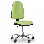 Krzesło robocze Torino Biedrax Z9812Z - krzyż chromowany