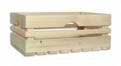 Drewniana skrzynka 40 x 27 x 16 cm - Biedrax