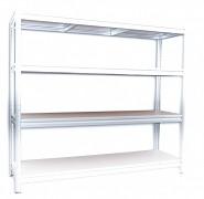 Kompletna półka do regału - regał metalowy, 60 x 160 cm - ocynk, nośność półki 200 kg