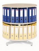 Regał obrotowy do archiwacji - piętro dodatkowe Biedrax AS3947