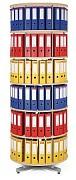 Regał obrotowy do archiwacji - 6 pięter, brzoza Biedrax AS4666