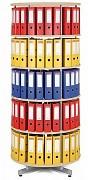 Regał obrotowy do archiwacji - 5 pięter, brzoza Biedrax AS4665