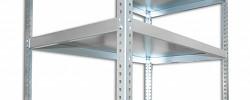 Półka - regał skręcany Biedrax 30 x 150 cm - ocynk