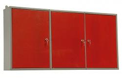 szafka do warsztatu na narzędzia, metalowa, warsztatowa, dwuczęściowa - Biedrax KS5810