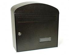 skrzynka pocztowa na listy, gazety, lakierowana brązowa - Biedrax SD6322