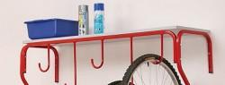 Półki do wieszaka na 5 rowerów Biedrax SK3099