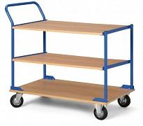 Półkowe wózki warsztatowe Biedrax PV4684 - 100x60cm