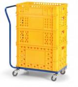 Wózek platformowy lekki Biedrax PV1503 - 60x38cm