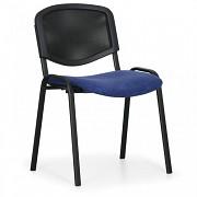 Tapicerowane krzesło konferencyjne, niebieskie Biedrax Z9850M