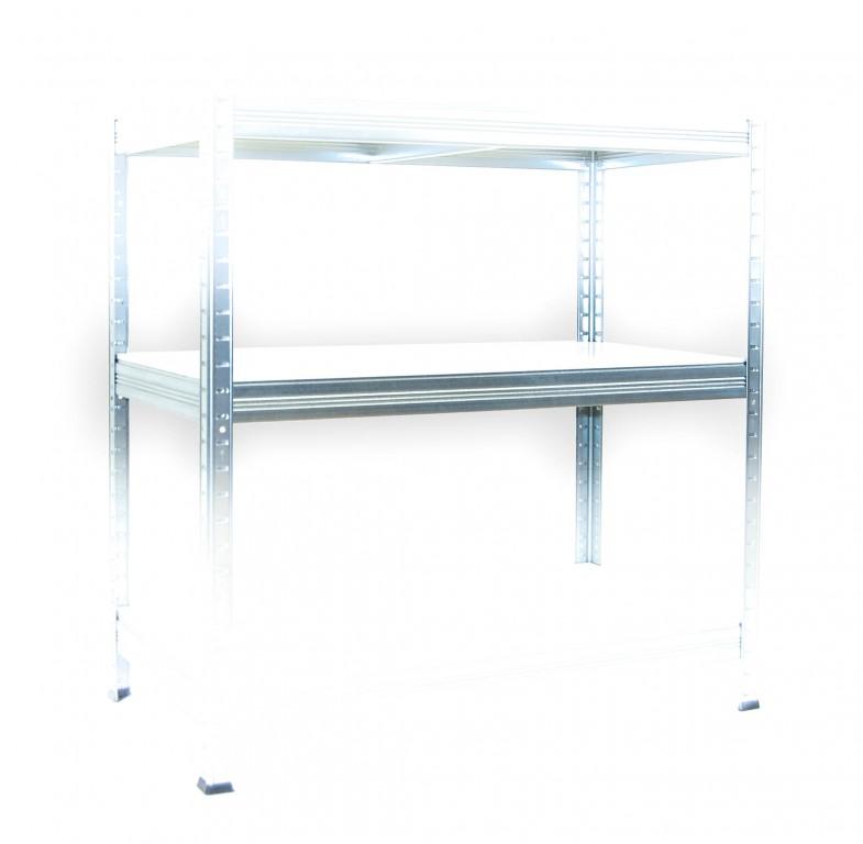 Kompletna Półka Do Regału Regał Metalowy 60 X 120 Cm Cynk Nośność Półki 175 Kg Laminat
