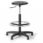 Krzesło laboratoryjne Biedrax Z9516 ze stopkami poślizgowymi